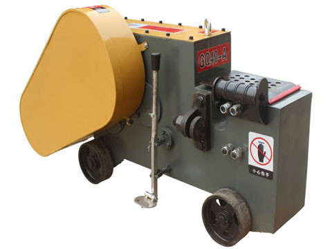 Electric steel rod cutter