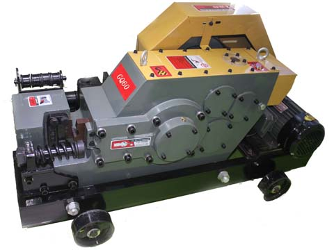 Round steel cutter machine
