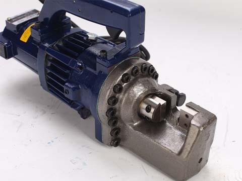 hydraulic portable rebar cutter