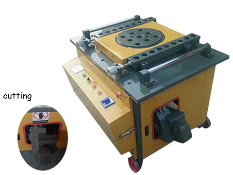 GWC42 electric steel cutter and bender