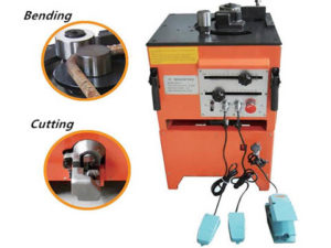 RBC25 electric steel cutting and bending machine