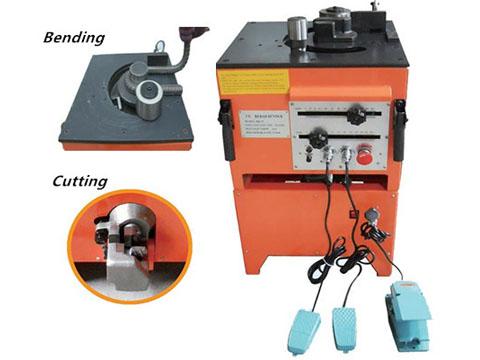 RBC32 steel rebar cutter and bender