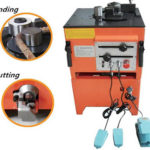 steel bar cutting and bending machine